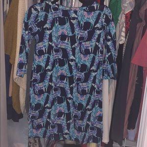 GUC Lilly Pulitzer Girls Alpaca My Bags Bay Dress